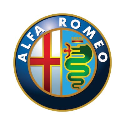 Custom alfa romeo logo iron on transfers (Decal Sticker) No.100118